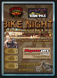 KIIM-FM Bike Night
