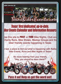 Texas Biker Events