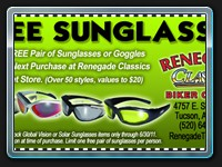 Free Sunglasses Coupon