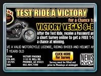 Test Ride a Victory