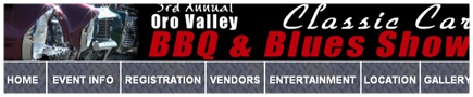 Oro Valley Classic Car BBQ & Blues Show